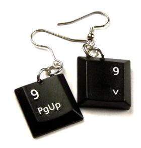 keyboard-earrings