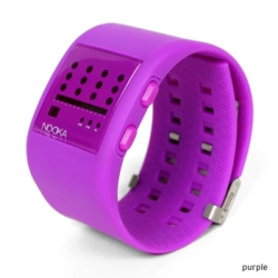 purple nooka watch for women
