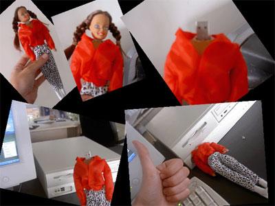 barbie doll usb flash drive
