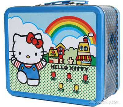 cute hello kitty lunchbox design