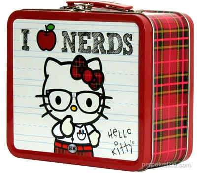 These two cool Hello Kitty Lunchboxes grant any girl a cool way to carry