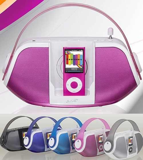 Portable Boombox Bag Design