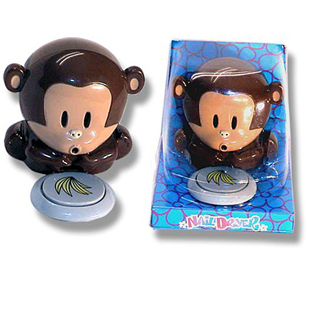 funny monkey finger nail dryer