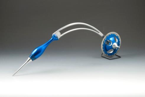 cool pizza cutter blue stingray