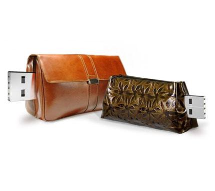 designer handbags usb flash drives