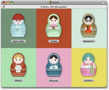 cool russian matryoshka dolls icons