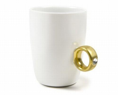 2 carat ring mug