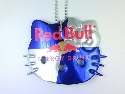 hello kitty necklaces red bull