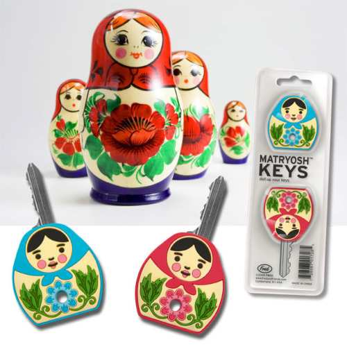 matryoshka dolls key caps