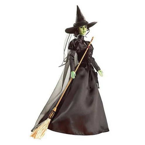 wicked witch of the west barbie doll