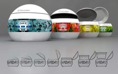 Electrolux cooker concept gadget