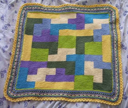 tetris blanket design