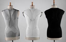textile stretch sensor clothes