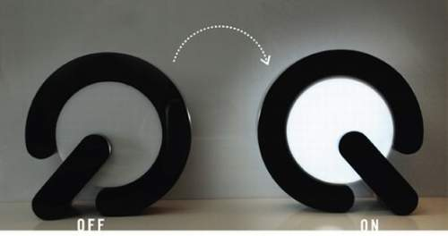 on and off lamp design