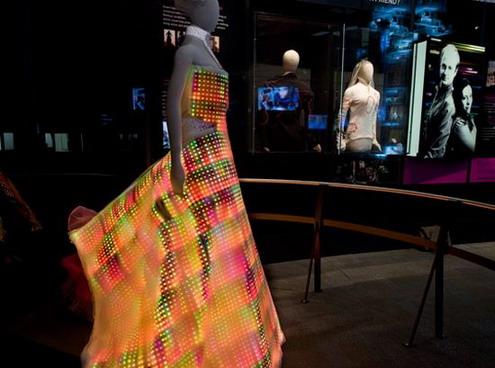 Led Galaxy Dress design