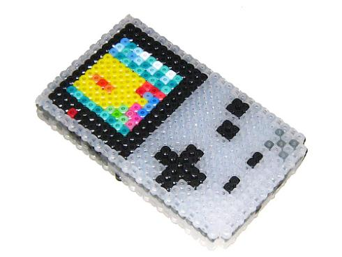 clear gameboy color beadwork