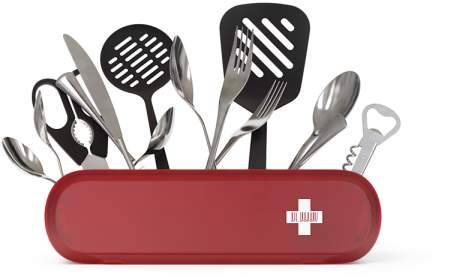 swiss army knife kitchen