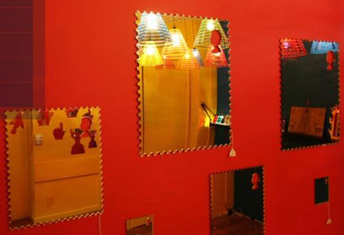 stamp mirror