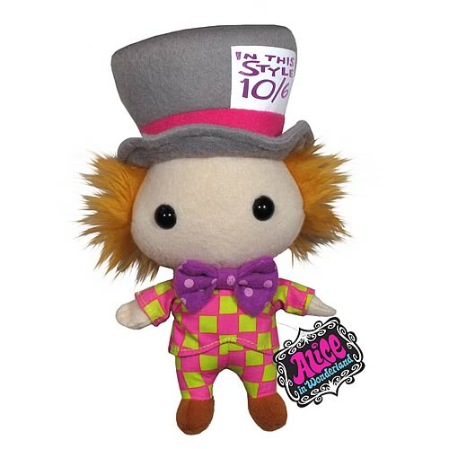 Alice in Wonderland Mad Hatter Plush. Costing just $  12.99, these dolls will