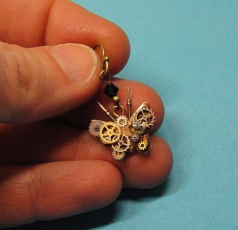 butterfly earrings-2