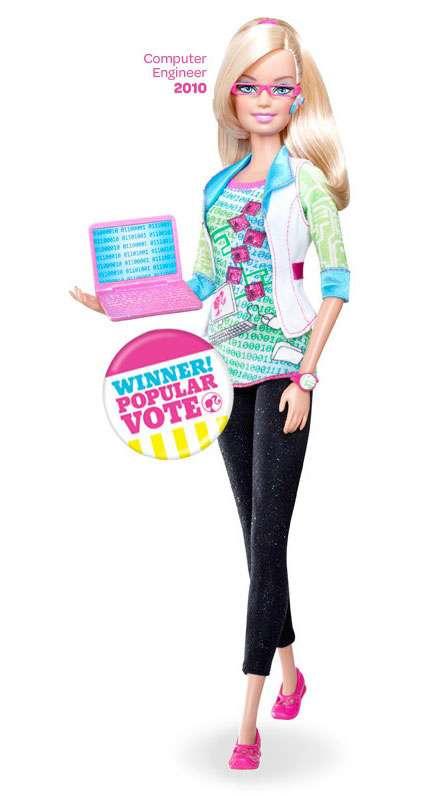 Computer engineer avatar Barbie 2