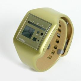 Nooka Metallic Gold Zub Zoo