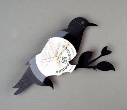 Vinyl wall clocks-2