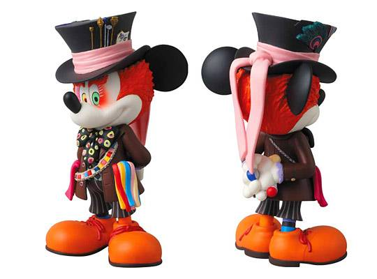 Medicom Mickey Mouse as Mad Hatter1