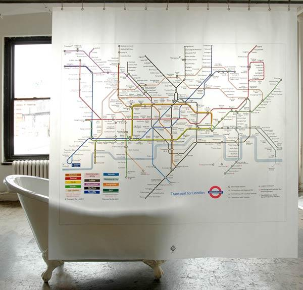london-subway-map-shower-curtain design for geeks