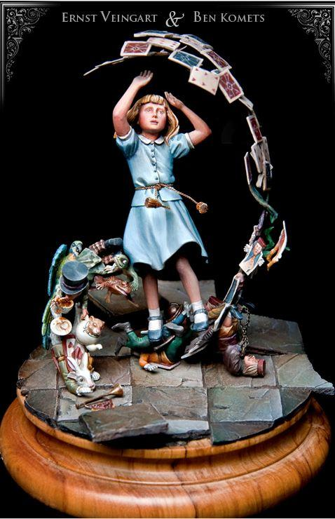 Lovechild Alice Sculpture