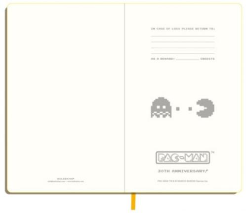 Moleskine Pac Man Notebooks 2