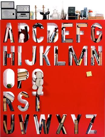 aakkoset alphabet shelf2
