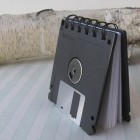 Recycled Floppy Disk Mini Notebook 1