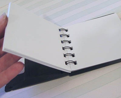 Recycled Floppy Disk Mini Notebook 2