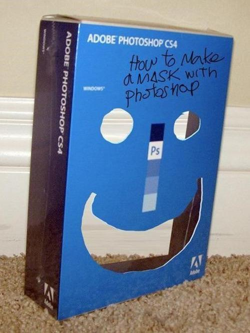 how to make a photoshop mask