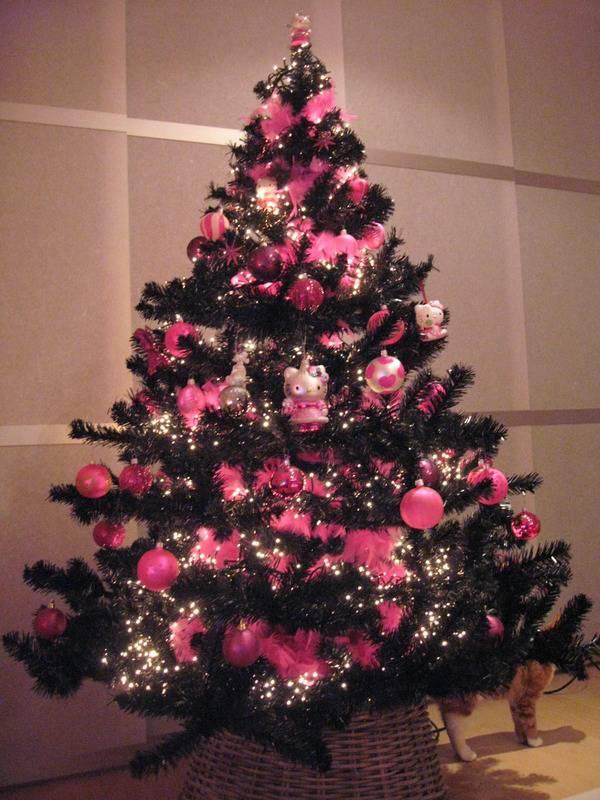 Hello Kitty Christmas Tree.Hello Kitty Christmas Trees Gadgether