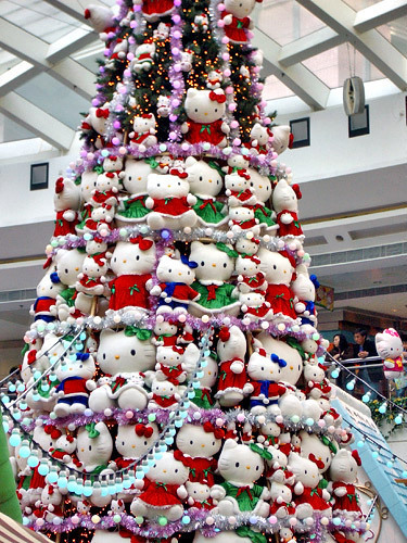 Hello Kitty Christmas Trees Gadgether