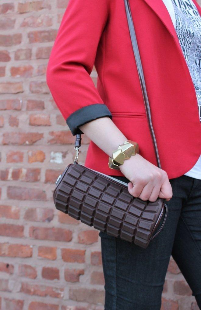Chocolate Candy Bar Handbag 1