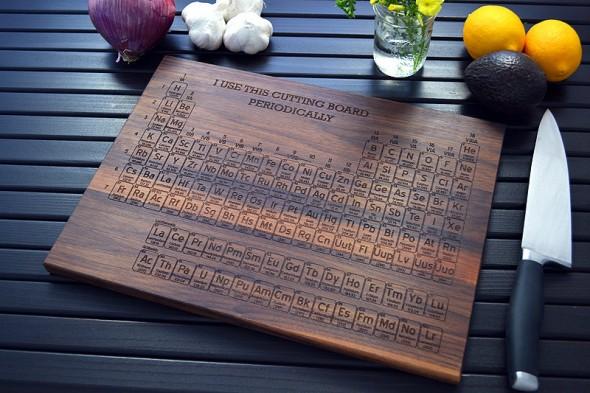 Periodic Table Cutting Board