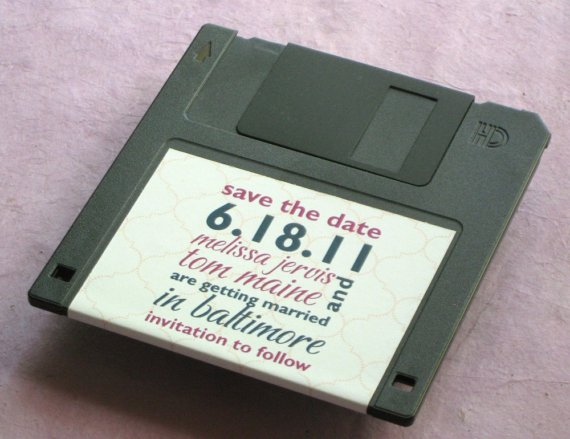 geeky save the date 2