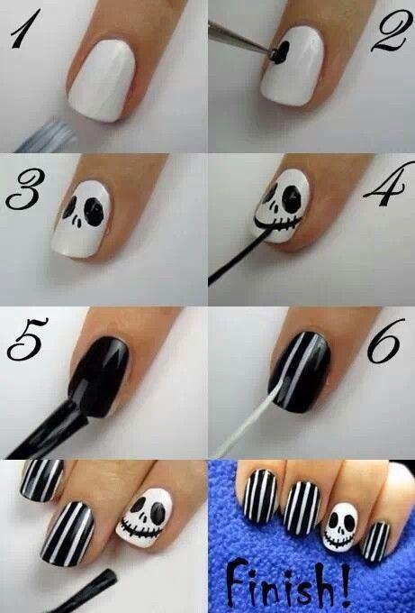 Spooky Halloween Nails Art
