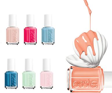 essie summer 2014  nail trends
