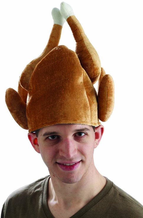 silly Funny turkey hat 2