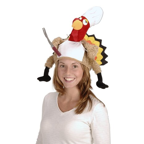 silly Funny turkey hat 4