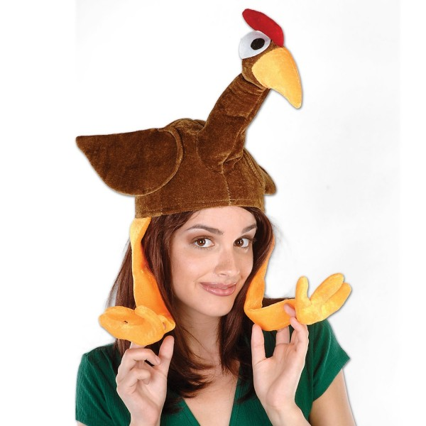 silly Funny turkey hat 5