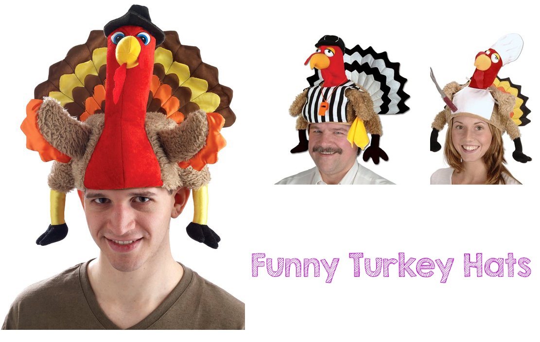 bf9e8f04786 Funny Turkey Hats