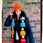 pacman-scarf-hat