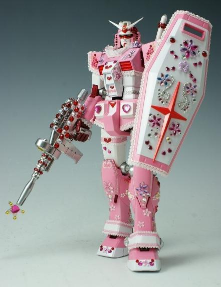 pink-gundam-robot