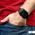 black style fashion watch
