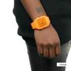 cool bright orange watch